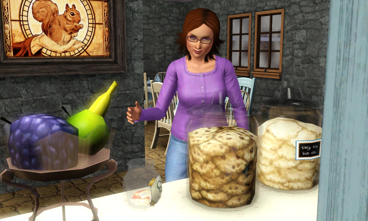uncategorized sims in the woods