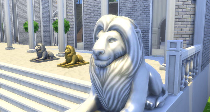 ts4 download 5 classical statues sims in the woods