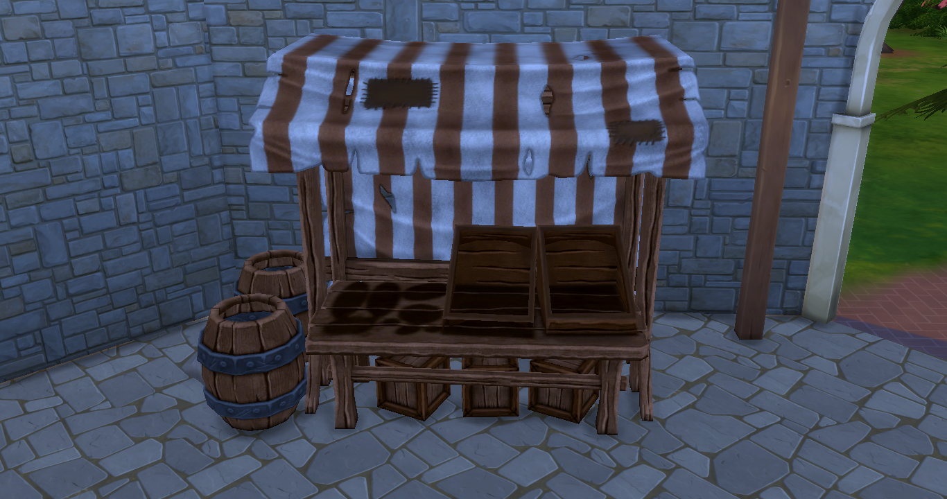 Ts4 Download Medieval Market Sims In The Woods