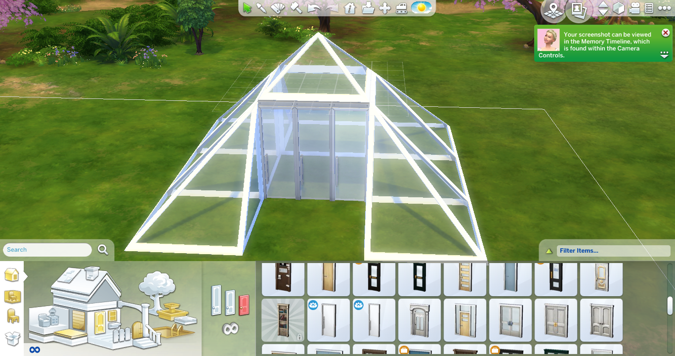 Ts4 Download Skylight Roof Pieces Sims In The Woods