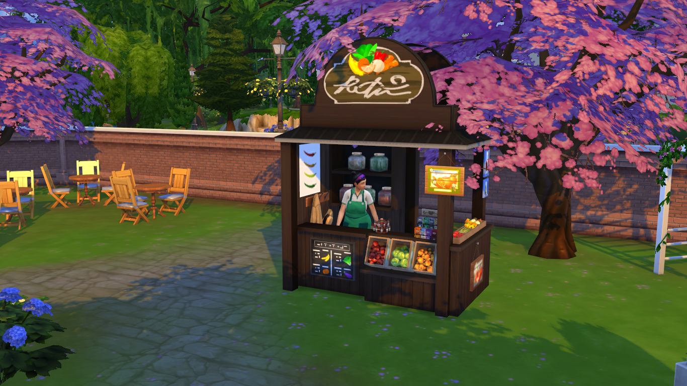 TS4 Download: Auto NPCs (Barista, Stall Vendor and Bartender) | Sims